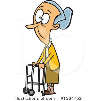 Old People Clipart #1364752 by toonaday