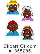 Granny Clipart #1365285 by Vector Tradition SM