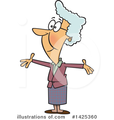 Granny Clipart #1425360 by toonaday