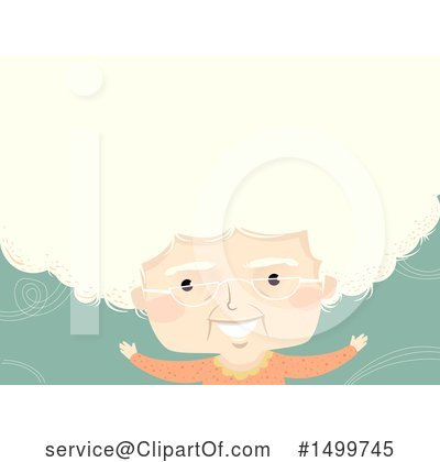 Royalty-Free (RF) Granny Clipart Illustration by BNP Design Studio - Stock Sample #1499745
