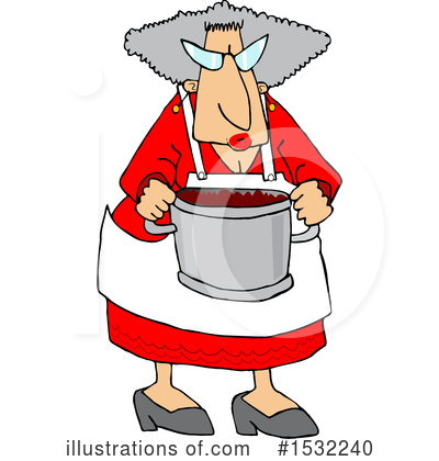 Royalty-Free (RF) Granny Clipart Illustration by djart - Stock Sample #1532240
