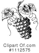 Grapes Clipart #1112575 by Prawny Vintage