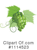 Royalty-Free (RF) grapes Clipart Illustration #1114523