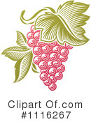 Royalty-Free (RF) Grapes Clipart Illustration #1116267