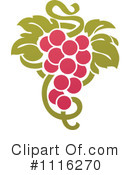 Royalty-Free (RF) Grapes Clipart Illustration #1116270