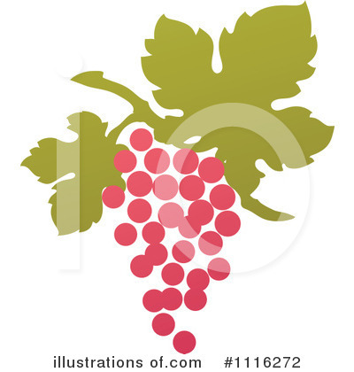 Grapes Clipart #1116272 by elena