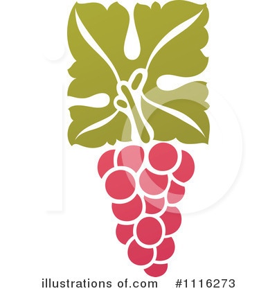 Grapes Clipart #1116273 by elena