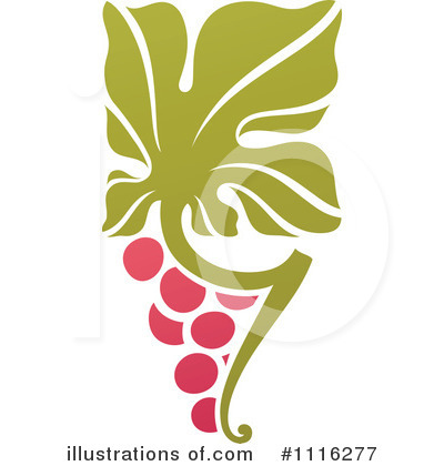 Grapes Clipart #1116277 by elena