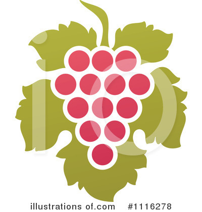Grapes Clipart #1116278 by elena