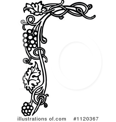 Royalty-Free (RF) Grapes Clipart Illustration by Prawny Vintage - Stock Sample #1120367