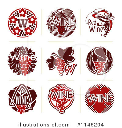 Wine Clipart #1146204 by elena
