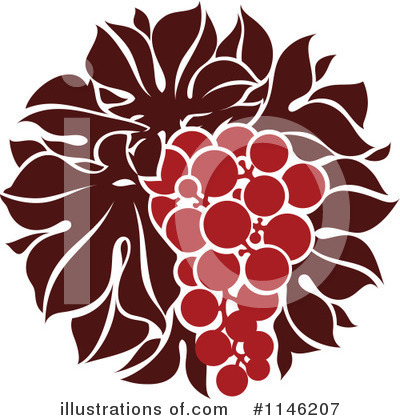 Grapes Clipart #1146207 by elena