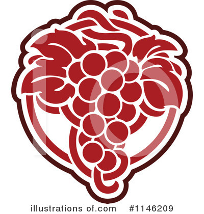 Grapes Clipart #1146209 by elena