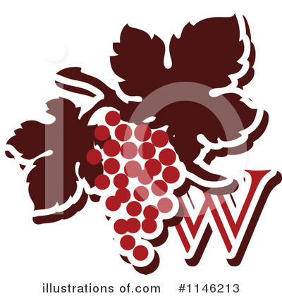 Grapes Clipart #1146213 by elena