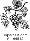 Grapes Clipart #1166512 by Prawny Vintage