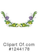 Grapes Clipart #1244178 by Graphics RF