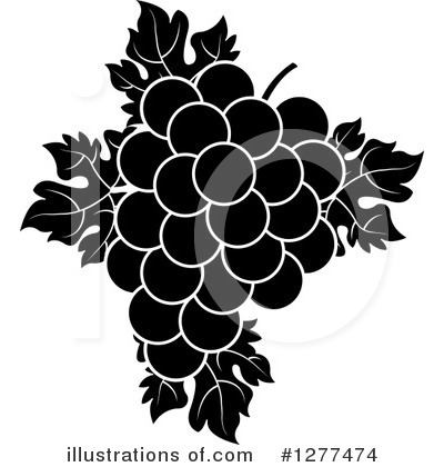 Grapes Clipart #1277474 by Lal Perera