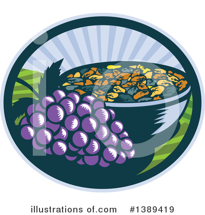 Vineyard Clipart #1389419 by patrimonio