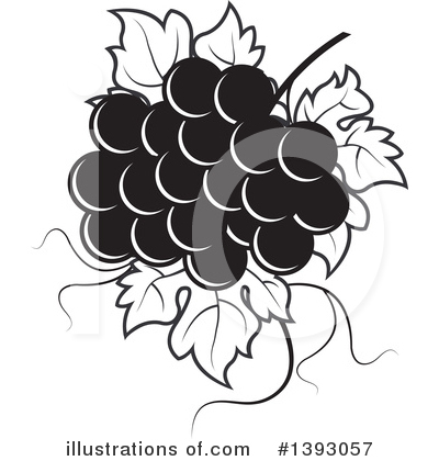 Grapes Clipart #1393057 by Lal Perera