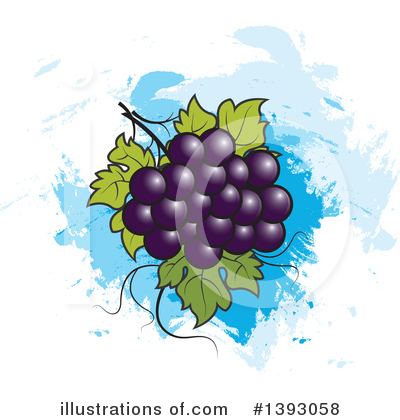 Grapes Clipart #1393058 by Lal Perera