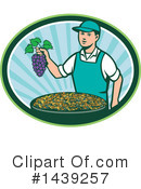 Royalty-Free (RF) Grapes Clipart Illustration #1439257