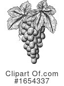 Grapes Clipart #1654337 by AtStockIllustration