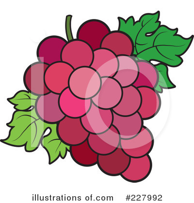 Grapes Clipart #227992 by Lal Perera