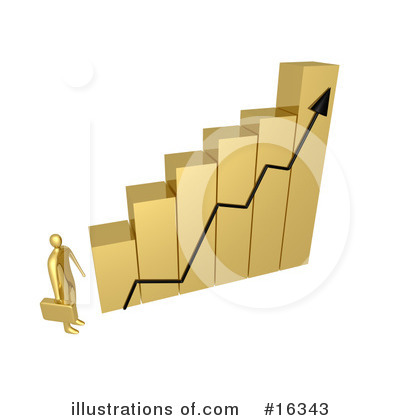 Royalty-Free (RF) Graphs Clipart Illustration by 3poD - Stock Sample #16343