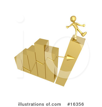 Royalty-Free (RF) Graphs Clipart Illustration by 3poD - Stock Sample #16356