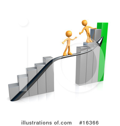 Royalty-Free (RF) Graphs Clipart Illustration by 3poD - Stock Sample #16366