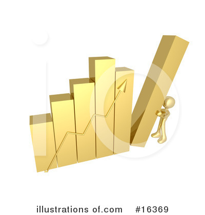 Royalty-Free (RF) Graphs Clipart Illustration by 3poD - Stock Sample #16369