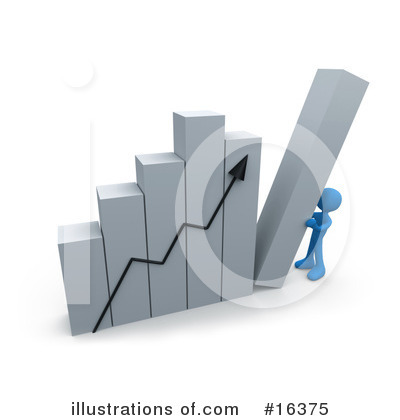 Royalty-Free (RF) Graphs Clipart Illustration by 3poD - Stock Sample #16375