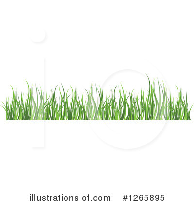 Grass Clipart #1265895 by Vector Tradition SM