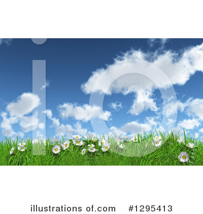 Daisies Clipart #1295413 by KJ Pargeter