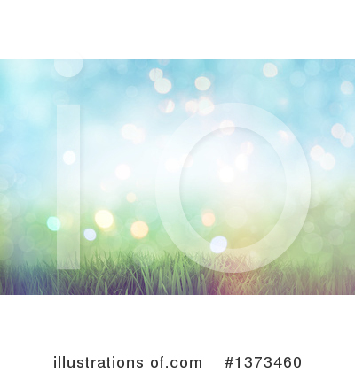 Royalty-Free (RF) Grass Clipart Illustration by KJ Pargeter - Stock Sample #1373460