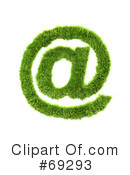 Royalty-Free (RF) Grassy Symbol Clipart Illustration #69293