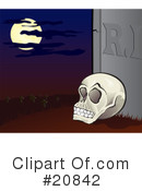Royalty-Free (RF) Grave Clipart Illustration #20842