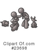 Gray Collection Clipart #23698 by Leo Blanchette