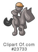 Royalty-Free (RF) gray collection Clipart Illustration #23733