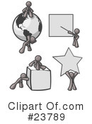 Gray Collection Clipart #23789 by Leo Blanchette