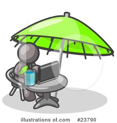 Vacation Clipart #23790 by Leo Blanchette