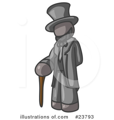 Abraham Lincoln Clipart #23793 by Leo Blanchette