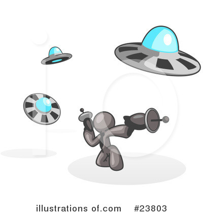 Alien Clipart #23803 by Leo Blanchette