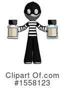 Gray Design Mascot Clipart #1558123 by Leo Blanchette