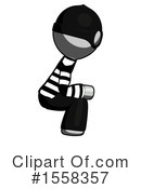 Gray Design Mascot Clipart #1558357 by Leo Blanchette