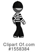 Gray Design Mascot Clipart #1558384 by Leo Blanchette