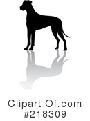 Great Dane Clipart #218309