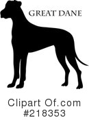 Great Dane Clipart #218353
