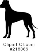Great Dane Clipart #218386 by Pams Clipart
