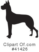 Great Dane Clipart #41426
